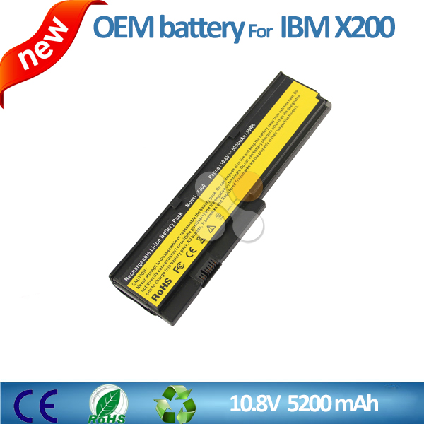 Replacement laptop battery for IBM Lenovo Thinkpad X200 X201 X201i 43R9255 42T4534 battery