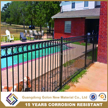 Security used pool fence, OEM&ODM swimming pool fence, aluminum pool fencing and gate