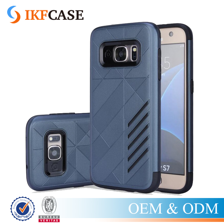 New Brand Luxury Slim Armor Double Layer Back Case For Samsung Galaxy S4 S5 S6