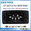 ZESTECH FACTORY 2 Din Car DVD Player for benz R class W251 2006-2012 with built-in GPS, Dual Zone,Digital Panel, RDS,Steering