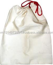 Eco Top quality customized Drawstring Cotton Tote bag