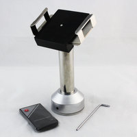 anti-theft smart phone display support with alarm, cell phone locator device, display stand for iphone