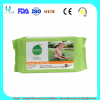 Cleaning baby skin care wet wipes,Organic Baby wipes