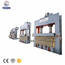 Best selling woodworking hydraulic cold Press Machine for Making Plywood/ block board /bamboo floor making