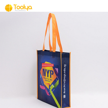 OEM ECO recyclable promotional laminated non woven shopping bag