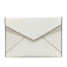 Professional production White Envelope Clutch Evening bag