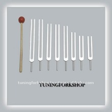 8 Chakra Tuning Fork Set For Sound Healing Therapy