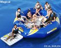 Hot selling modelar aquatic inflatable trampoline