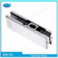 High quality durable glass door clamp, frameless door patch fitting
