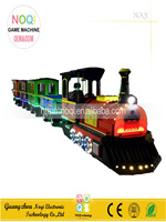 Noqi children amusement park equipment trackless train for sale electric tourist train