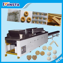 Snack making machine /puffed rice cake forming machinery/rice ball making for sale