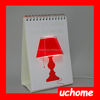 UCHOME DIY USB Creative Page by Page Modern LED Desk Table Lamp