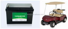 48V club car lithium rechargeable battery with 4pcs 12V 100Ah in series