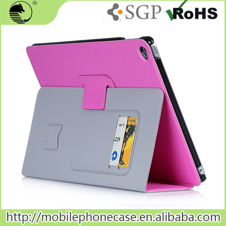 "2016 Ultra Thin PU Flip Tablet Cover 9.7"" For Apple iPad Air 2 Foruniversal tablet cover"