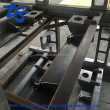 16mm thick modern laser cutting steel coffee table custom welded steel fabrication