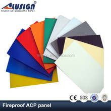 Alusign polyester aluminum plastic core composite wall panel
