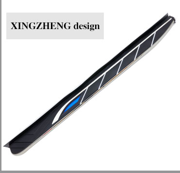 Customized 2017 Volkswagen Tiguan running board for VW side step nerf bar