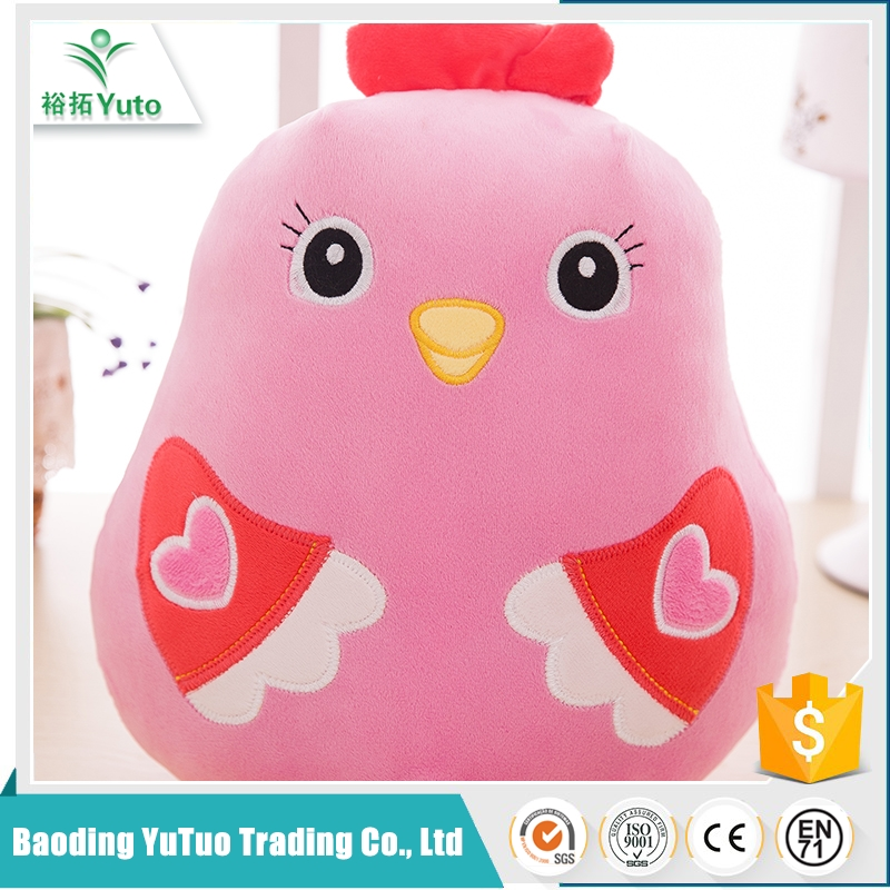 china products promotional colorful soft toys chicken
