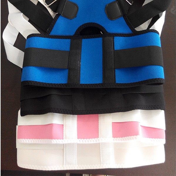 Best Products Women Adjustable Therapy Back Support Braces Belt Band Posture Shoulder Corrector for Fashion Health