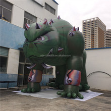 Advertising Giant Green Inflatable Monster Halloween Inflatable Cartoon Model A071