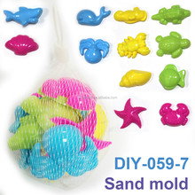 Mini Sea animals 12 Sand Molds Set