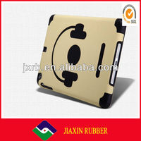 Environmental green soft halloween silicon case for ipad