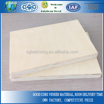 18mm Birch Plywood For USA