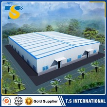 2017 China Hot Selling stable shoes warehouse building design in russia