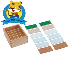 Preschool Montessori Material Sensorial Thermic Tablets Educational Wooden Toys For Kids