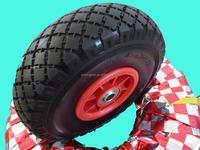 High quality 260 x 85 mm garden trailer pu foam wheel