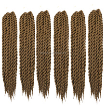 Havana Mambo Twist Crochet Braid Hair 75g/pack 2X Synthetic Color 27 Senegalese Havana Mambo Jumbo Twists Braiding Hair