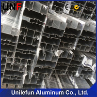Industry extruded profile aluminum sections for door and window