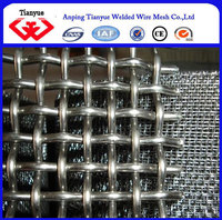 crimped wire mesh/Mine sieving mesh/barbecue mesh with ISO