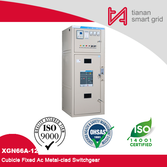 XGN66A-12 Box (Indoor) Substation Power Automation Intelligent Distribution Panel AC Metal-Clad Switchgear