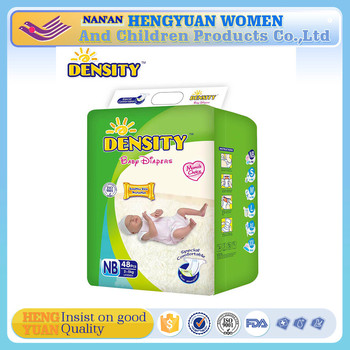 Printed Feature and Cotton Material disposable baby diapers