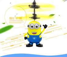 Top quality Mini RC Flying Ufo Fly Ball Toy Minion flying toy