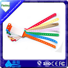 wholesale disposable rfid watches wristband for patient authentication