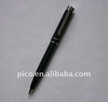 China Manufacturer Top Quality Customized Black Promotion Ballpoint Pen/Advertising Promotion Pen