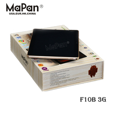 10.1 inch quad Core Tablet PC With BT/GPS/FM//Calling Functions MaPan F10B 3G