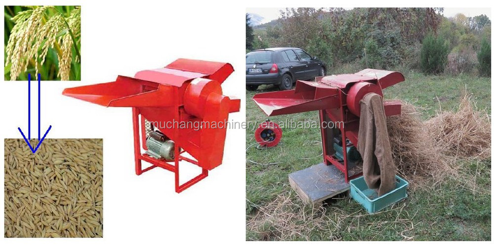 5GT-500 zhengzhou muchang rice threshing machine