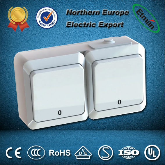 New design wall switch,wall mounted switch with new material,electrical wall switch
