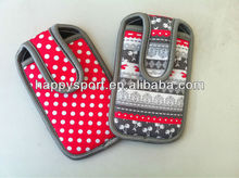 2012 the latest&simple promotional neoprene mobile phone pouch