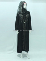 AI507 Middle East Muslim abaya for female garment fashion and popular