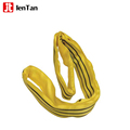 JenTan 70mmx1m SWL 4000KG color code soft round lifting sling with ce gs