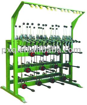 Multi-head constant tension pay-off machine