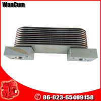 Global warranty Cummins parts in generator accessories QSC8.3 Oil Cooler