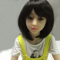 128cm small chest flat breast sex doll for man cute little girl mini toy asian love dolls