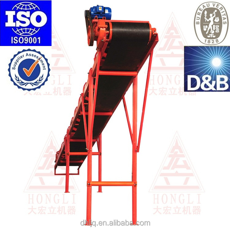 2016 china new top quality mining quarry belt conveyor for stone