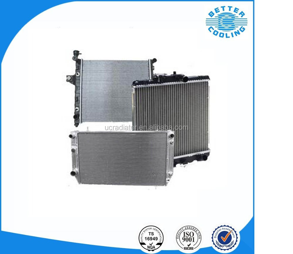 toyota parts aluminum auto racing radiator for toyota sienna 160410A402/160410A400