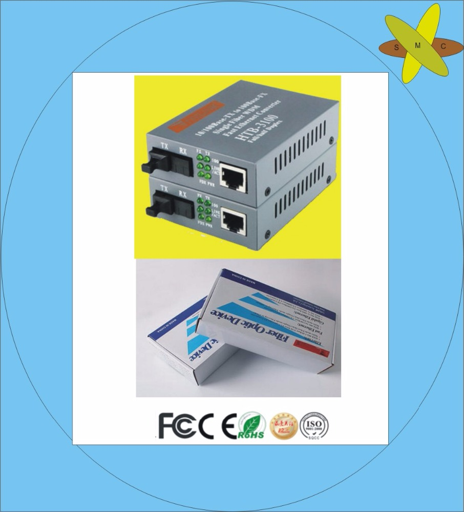 FTTH CATV Single mode 1sc1rj45 Optical Fiber Media Video Converter/fiber receiver and transmitter made in China